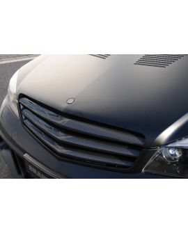Brabus Mercedes-Benz C-Class /W204/ : Front grill, Carbon
